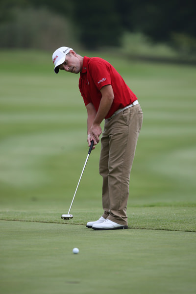 Just one bogey on the card for David Higgins as he opens with a 68 (-3) in the Joburg Open. Picture: David Lloyd /  www.golffile.ie