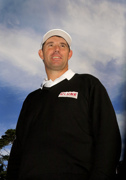 Pádraig Harrington, pictured at Pebble Beach before the tournament. Picture: Kenneth E Dennis/  kendennisphoto.com