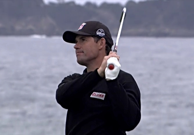 Pádraig Harrington had a mixed week at Pebble Beach but finished tied for 27th.