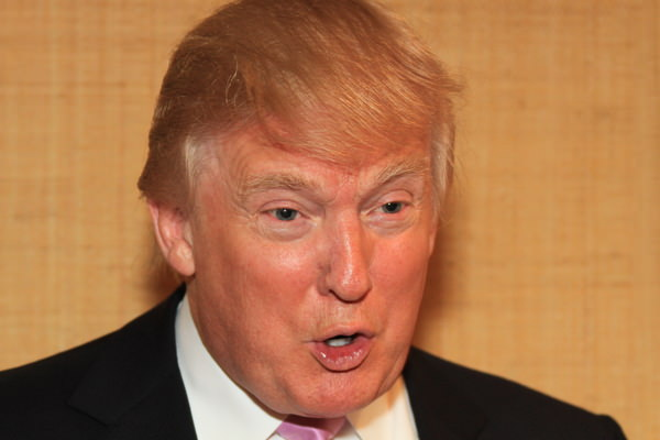 Donald Trump. Pictured at Doral last year byEoin Clarke/ www.golffile.ie