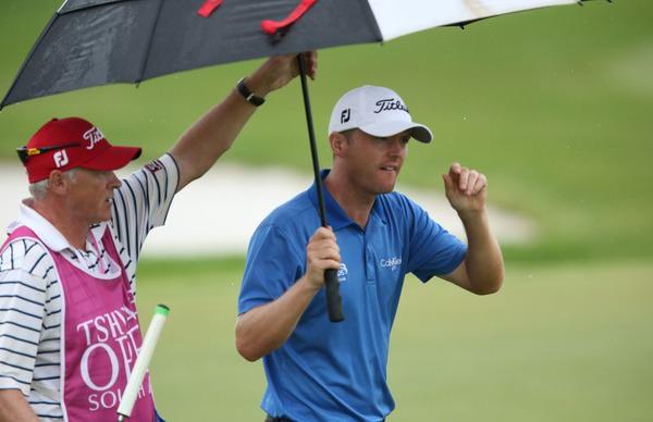 Michael Hoey is alone in second place in the Tshwane Open.Picture: David Lloyd /  www.golffile.ie