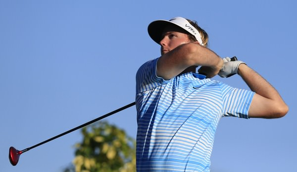 Russell Henley in action in round three.Picture Fran Caffrey www.golffile.ie