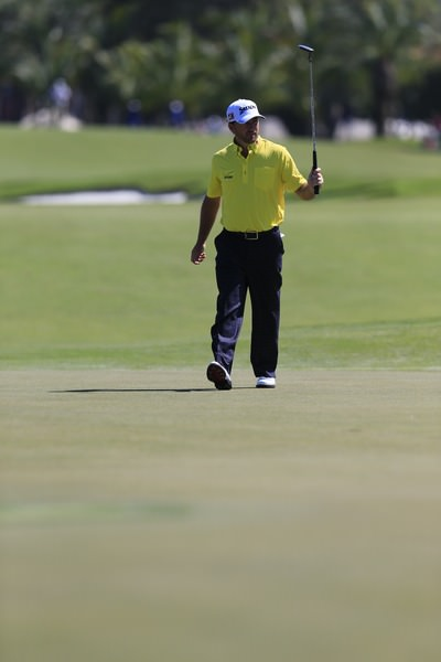 Graeme McDowell is happy with his putting but concerned about his driving.Picture: Fran Caffrey www.golffile.ie