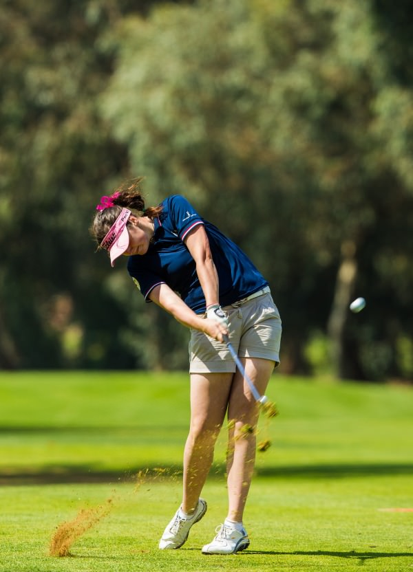Olivia Mehaffey, pictured during the first round of the Lalla Meryem Cup. Credit: Tristan Jones/ LadiesEuropeanTour.com