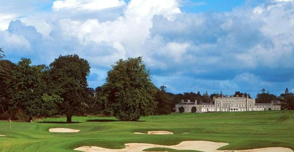 The new 18th on the O'Meara Course at Carton House