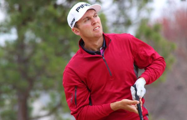 Seamus Power was back in the winner's circle in North Carolina on Friday. Picture via  egolfprofessionaltour.com