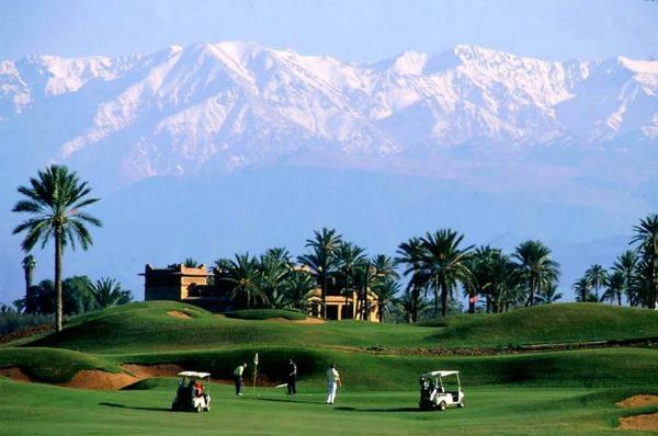 Amelkis Golf Club in Marrakech