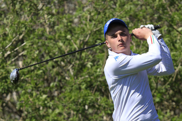 Mallow's James Sugrue leads the Munster Youths with a round to play.Picture: Thos Caffrey /  www.golffile.ie