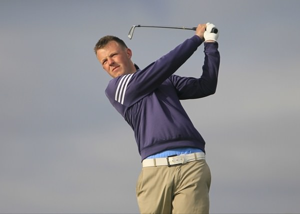 The Island's Paul McBride. Picture: Thos Caffrey / www.golffile.ie