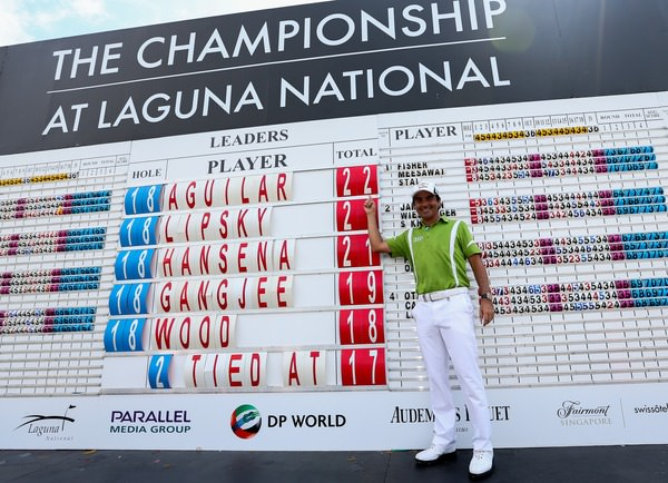 Felipe Aguilar finished 2-2 to win on 22-under par at Laguna National.Picture: David Lloyd /  www.golffile.ie