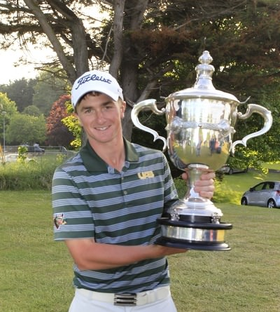 Reigning East of Ireland champion Paul Dunne from UAB and Greystones. Picture: Thos Caffrey /  www.golffile.ie