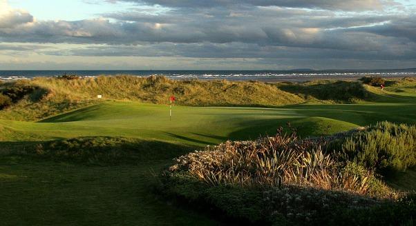 Seapoint Golf Links, designed by Des Smyth and Declan Branigan.