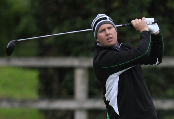 Michael McDermott finished strongly to win the athenry Pro-Am.Picture: Thos Caffrey /  www.golffile.ie