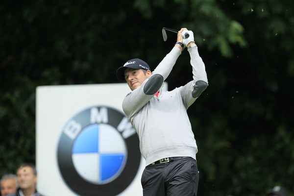 Simon Thornton in action in the BMW PGA at Wentworth last week, where he finished in the top 50.Picture Stuart Adams  www.golffile.ie