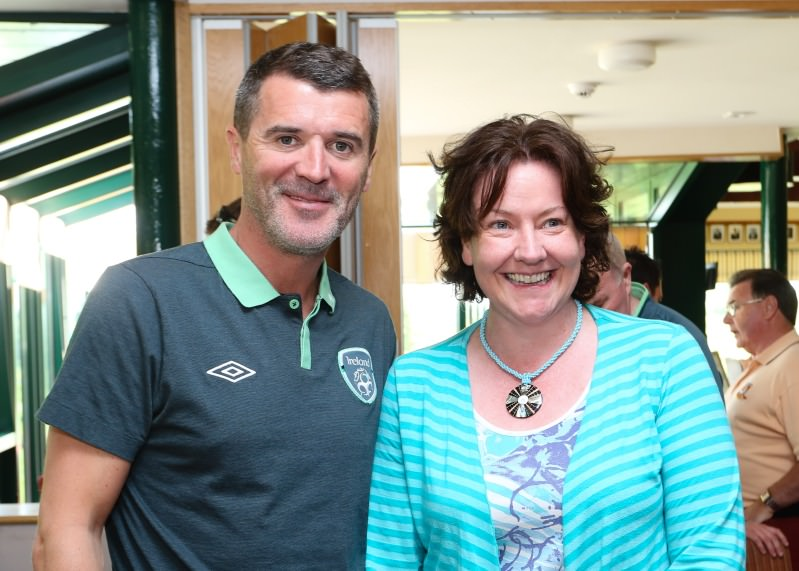 Roy Keane at Headfort. Picture © Tony McLean Photography