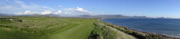 The 18th at Waterville Golf Links. Picture, Pat Cashman cashmanphotography.ie