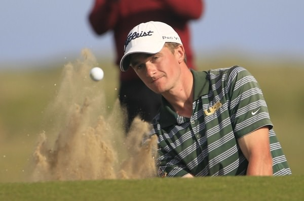 East of Ireland holder Paul Dunne en route to victory 12 months ago. Picture: Thos Caffrey /  www.golffile.ie