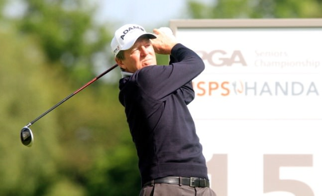 Des Smyth got off to the perfect start in the ISPS Handa Seniors PGA Championship. Picture © Getty Images