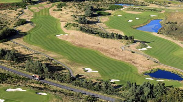 The second hole at the Ryder Cup course. Picture: Rydercup.com