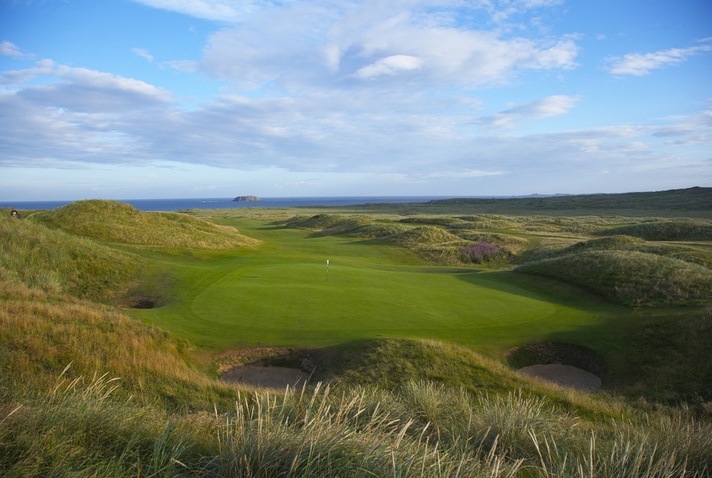 Ballyliffin Golf Club is just 70 minutes from Royal Portrush. Picture © Larry Lambrecht
