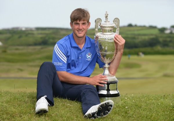 Scotland's Bradley Neil wins the 119th Amateur Championship at Royal Portrush. Credit: The R&A.