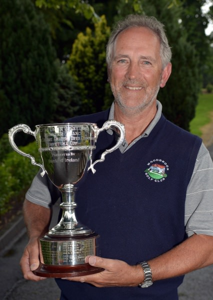John L Hughes (Woodbrook) winner of the 2014 Leinster Seniors Open Championship at Forrest Little Golf Club today (25/06/2014). Picture by Pat Cashman