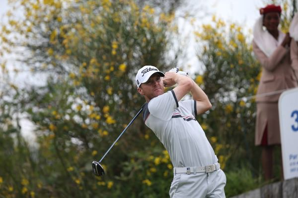 Michael Hoey (NIR) en route to a fine 66 in the second round of the 2014 Alstom Open de France. Picture: David Lloyd /  www.golffile.ie
