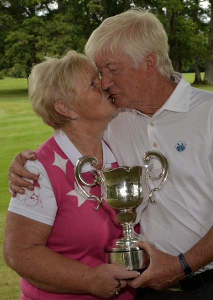 Maurice Kelly (Naas) with his wife Ann.Picture by Pat Cashman  www.cashmanphotography.ie