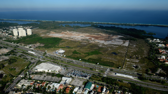 Construction of the Olympic golf site is behind schedule but the IGF is optimistic it will be ready in time.