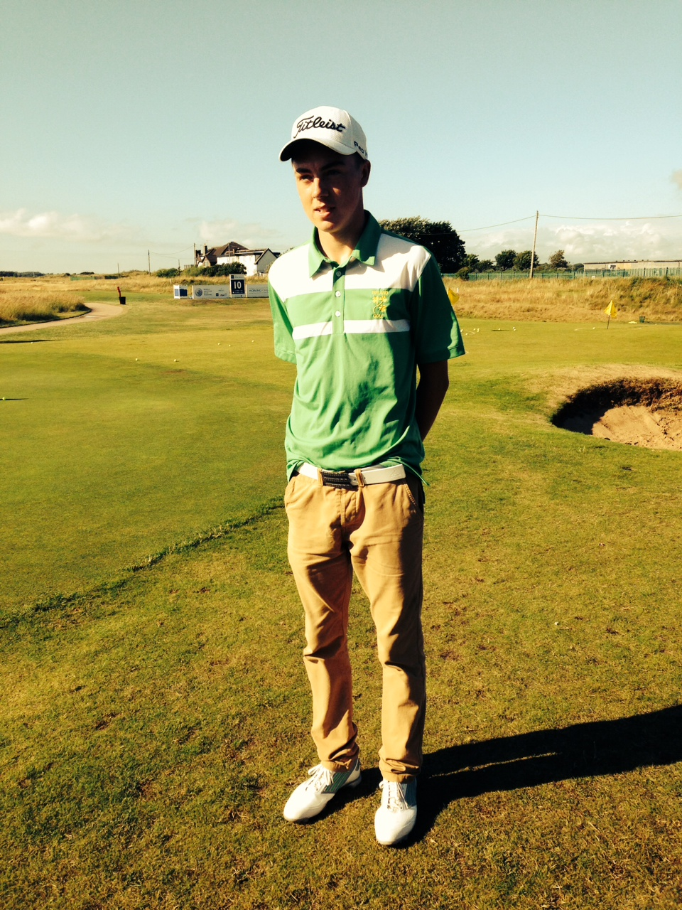 Kevin LeBlanc at West Lancs following his Junior Open win