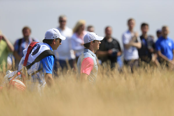 Rory McIlroy during the final round of The Open at Royal Liverpool, Hoylake. Picture Eoin Clarke,  www.golffile.ie: