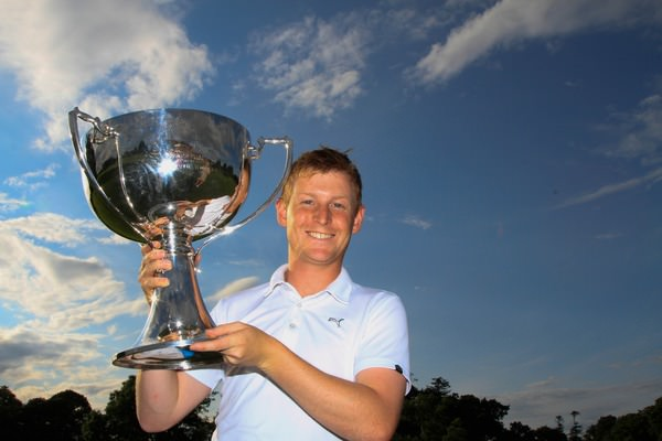 Geoff Lenehan joins the legends at Mullingar.Picture: Thos Caffrey / www.golffile.ie