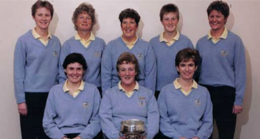 The Laytown and Bettystown team that won the Irish Senior Cup in 1988.