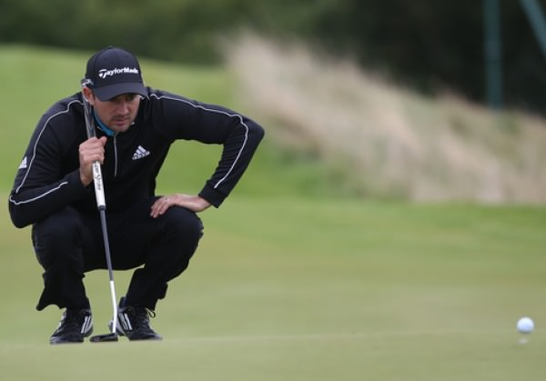 Ballyclare's Gareth Maybin is just three off the lead in the Made in Denmark event in Aalborg.Picture: David Lloyd /  www.golffile.ie