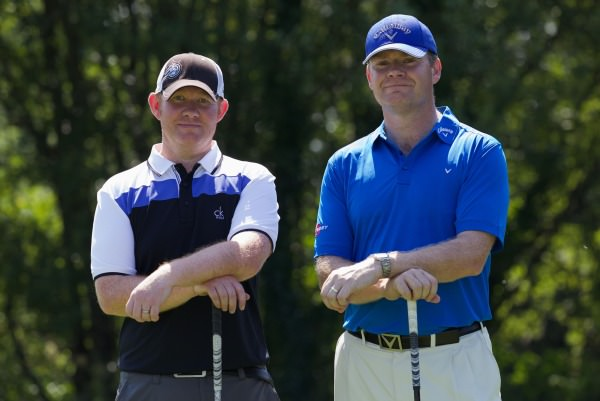 Eddie Tracy (left) and Shaun Donnelly (right) will be in action at St Mellion at Getty Images…/