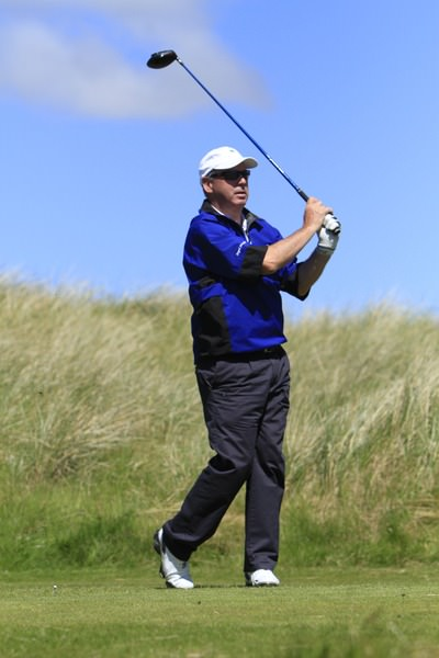 Garth McGimpsey (Bangor) during the Irish Seniors Amateur Open Championship at Waterville in May.Picture: Thos Caffrey /  www.golffile.ie