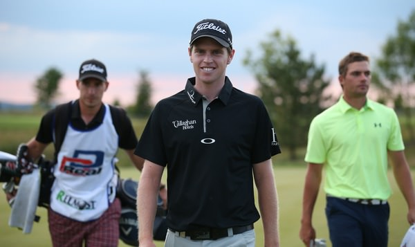 Kevin Phelan was pleased with his round.Picture: David Lloyd /  www.golffile.ie