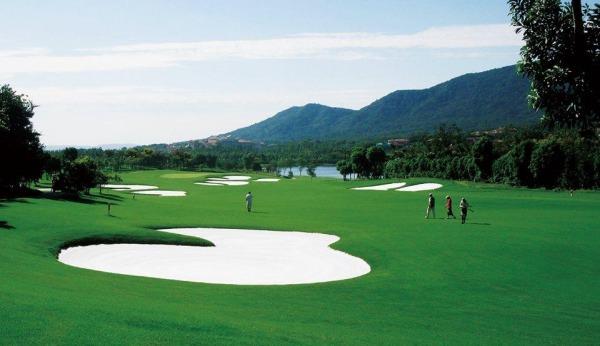 Zhongshan International Golf Club.