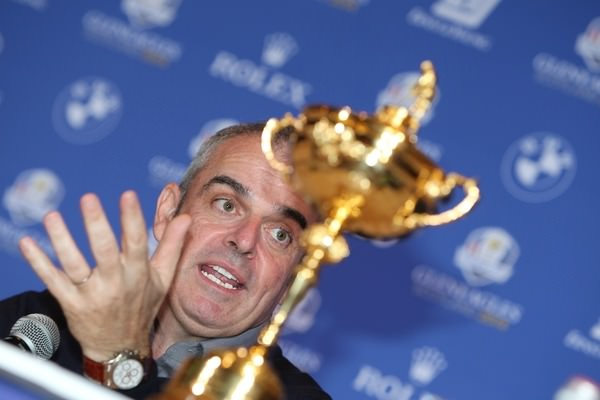 Five into three doesn't go. Paul McGinley has choices to make.Picture: Fran Caffrey/  www.golffile.ie