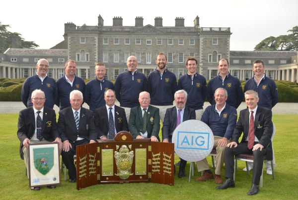 Muskerry Golf Club - AIG Barton Shield winners 2014. Picture by  Pat Cashman