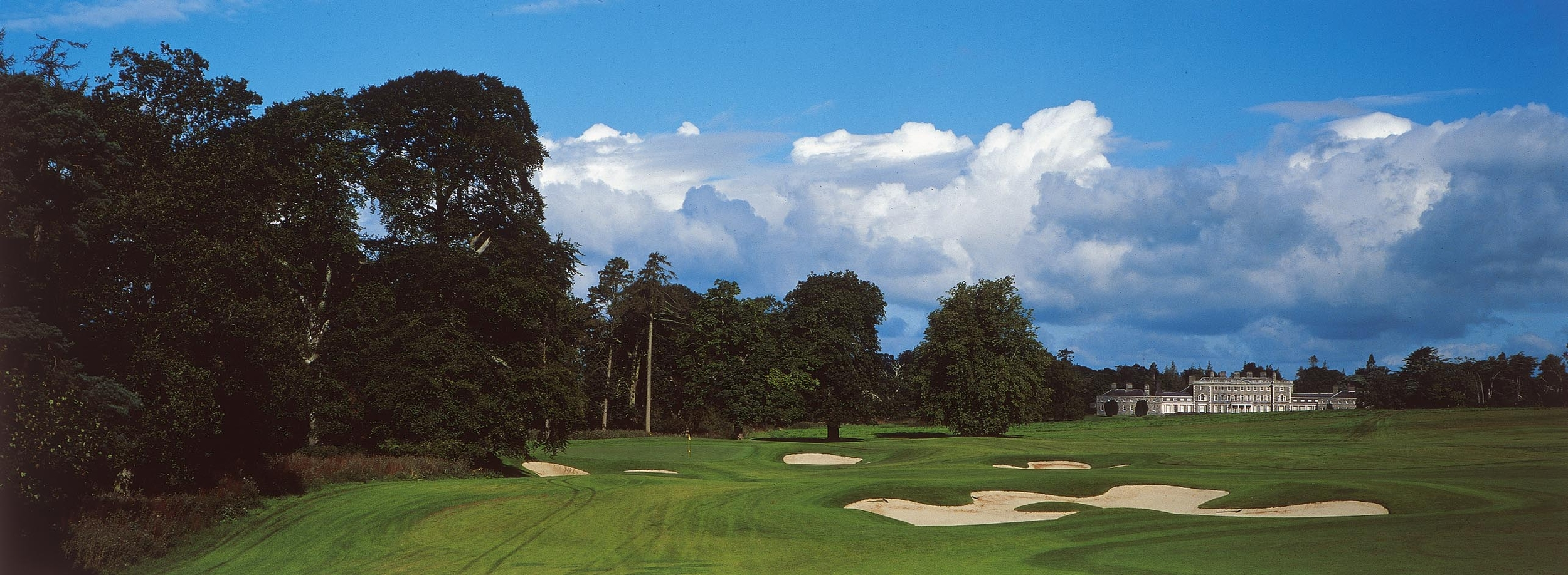 The 17th on the O'Meara Course at Carton House.