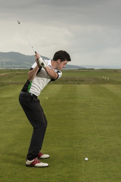 Kyle McCarron in action at North West