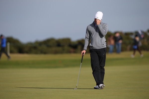 Rory McIlroy during the final round of the 2014 Alfred Dunhill Links Championship. Picture: David Lloyd / www.golffile.ie