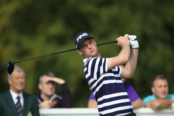 Jonny Caldwell in action in the Northern Ireland Open Challenge at Galgorm Castle. Picture: Thos Caffrey /  www.golffile.ie