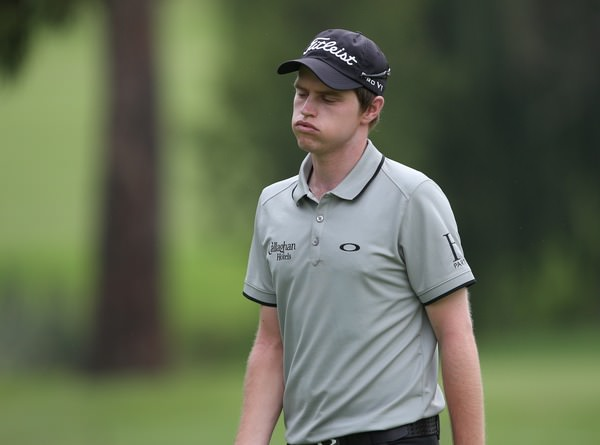Frustration at The Joburg Open, Picture: David Lloyd /  www.golffile.ie