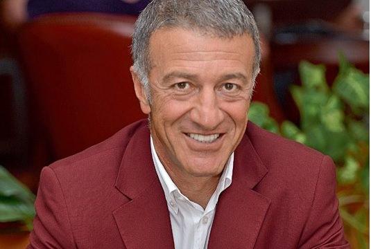 Turkish Golf Federation President Ahmet Agaoglu