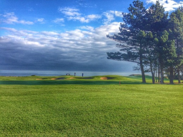 Woodbrook Golf Club on a sunny November day