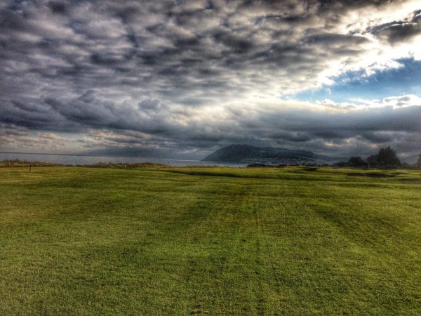 Woodbrook with Bray Head in the distance