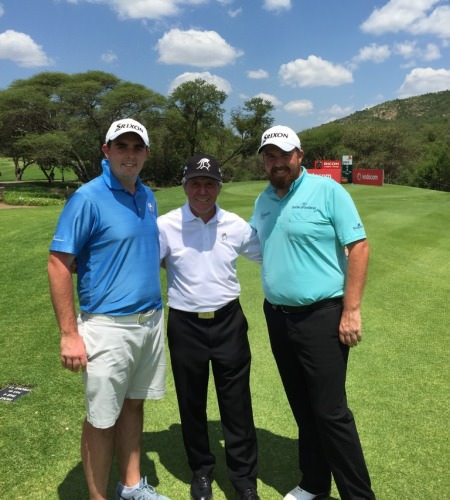 """""""What a pleasure to meet @garyplayer today with my bro @AlanLowry59 #legend"""" Shane Lowry tweeted."""