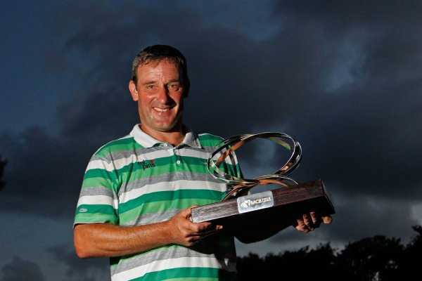 Paul Wesselingh withthe MCB Tour Championship. Picture ©Getty Images.